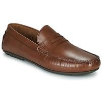 Pantofi Bărbați Mocasini André SLOTI Coniac