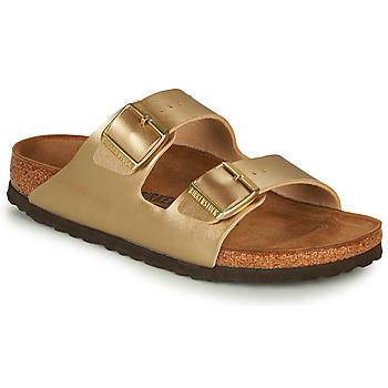 Pantofi Femei Papuci de vară Birkenstock ARIZONA Auriu