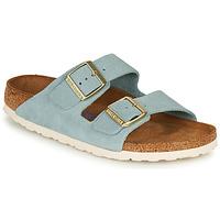 Pantofi Femei Papuci de vară Birkenstock ARIZONA SFB LEATHER Albastru