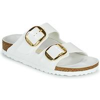 Pantofi Femei Papuci de vară Birkenstock ARIZONA BIG BUCKLE Alb / Auriu