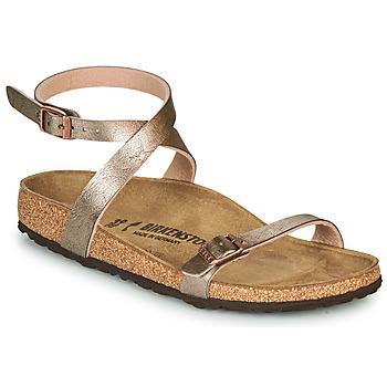 Pantofi Femei Sandale  Birkenstock DALOA Bronz