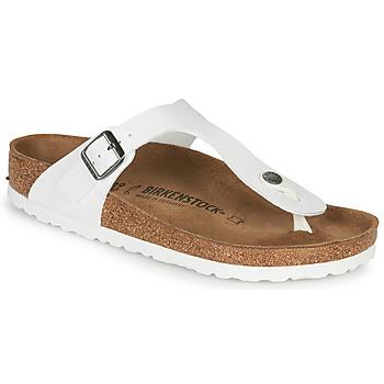 Pantofi Femei  Flip-Flops Birkenstock GIZEH Alb