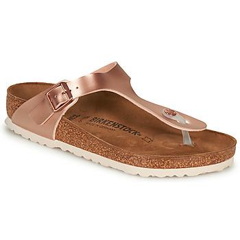 Pantofi Femei  Flip-Flops Birkenstock GIZEH Roz / Auriu