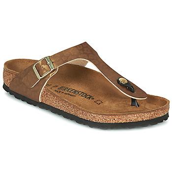 Pantofi Femei  Flip-Flops Birkenstock GIZEH Auriu / Leopard