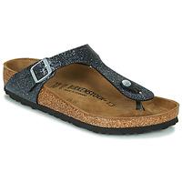 Pantofi Femei  Flip-Flops Birkenstock GIZEH Negru / Argintiu
