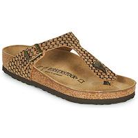 Pantofi Femei  Flip-Flops Birkenstock GIZEH LEATHER Maro