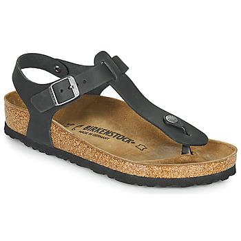 Pantofi Femei Sandale  Birkenstock KAIRO LEATHER Negru