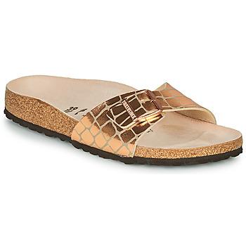 Pantofi Femei Papuci de vară Birkenstock MADRID Gold