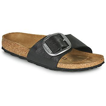 Pantofi Femei Papuci de vară Birkenstock MADRID BIG BUCKLE Gri / Culoare închisă