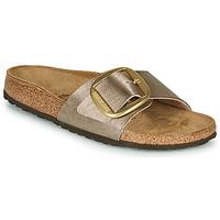 Pantofi Femei Papuci de vară Birkenstock MADRID BIG BUCKLE Graceful / Taupe