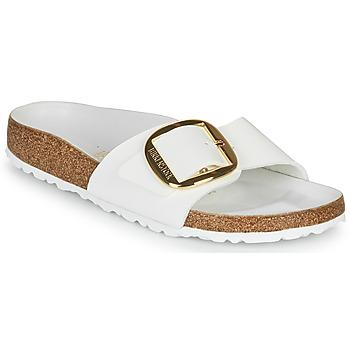 Pantofi Femei Papuci de vară Birkenstock MADRID BIG BUCKLE Alb / Lac