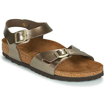 Pantofi Femei Sandale  Birkenstock RIO Bronz