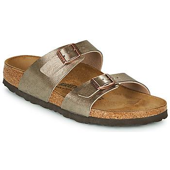 Pantofi Femei Papuci de vară Birkenstock SYDNEY Bronz