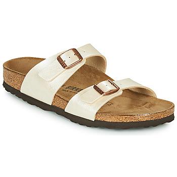 Pantofi Femei Papuci de vară Birkenstock SYDNEY Nude