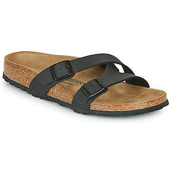 Pantofi Femei Papuci de vară Birkenstock YAO BALANCE Negru