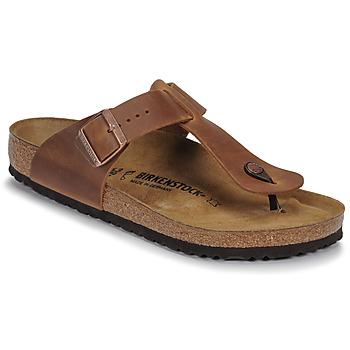 Pantofi Bărbați  Flip-Flops Birkenstock MEDINA LEATHER Antic / Brown