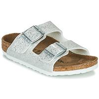 Pantofi Fete Papuci de vară Birkenstock ARIZONA Cosmic / Sparkle / White