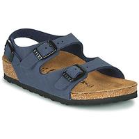 Pantofi Băieți Sandale  Birkenstock ROMA Albastru