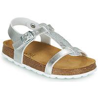 Pantofi Fete Sandale  André SYLVIE Argintiu