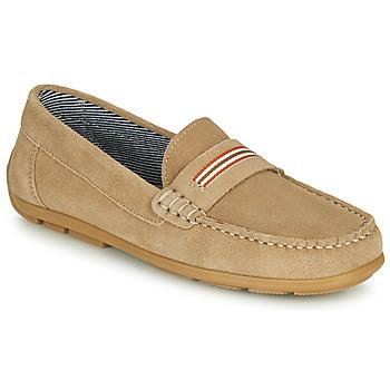 Pantofi Băieți Mocasini André ROMARIN Bej