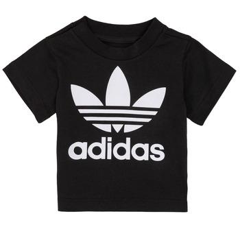 Îmbracaminte Copii Tricouri mânecă scurtă adidas Originals MARGOT Negru