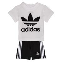 Îmbracaminte Copii Compleuri copii  adidas Originals CAROLINE Alb / Negru