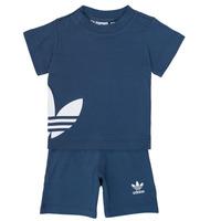 Îmbracaminte Băieți Compleuri copii  adidas Originals CYLIA Albastru