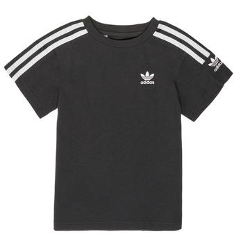 Îmbracaminte Băieți Tricouri mânecă scurtă adidas Originals MINACHE Negru