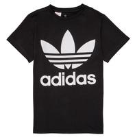 Îmbracaminte Copii Tricouri mânecă scurtă adidas Originals MAXENCE Negru