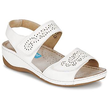 Pantofi Femei Sandale  Damart MILANA Alb
