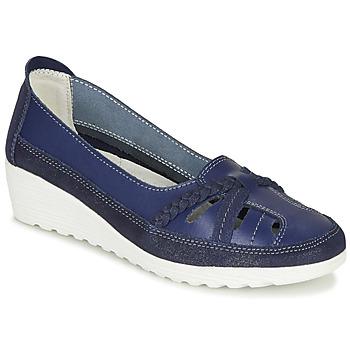 Pantofi Femei Balerin și Balerini cu curea Damart MILANI Albastru