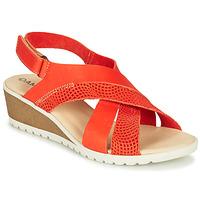 Pantofi Femei Sandale  Damart MAYLO Paprika