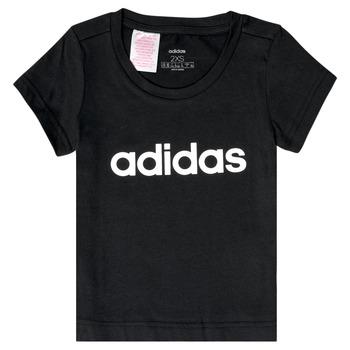 Îmbracaminte Fete Tricouri mânecă scurtă adidas Performance NATRAZ Negru