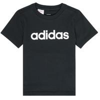 Îmbracaminte Băieți Tricouri mânecă scurtă adidas Performance NATAZO Negru