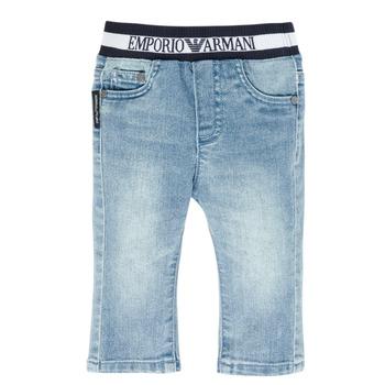 Îmbracaminte Băieți Jeans drepti Emporio Armani Ange Albastru