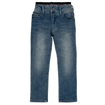 Îmbracaminte Băieți Jeans drepti Emporio Armani Annie Albastru