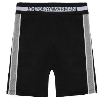Îmbracaminte Băieți Pantaloni scurti și Bermuda Emporio Armani Aubert Negru