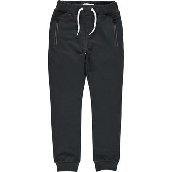 Îmbracaminte Băieți Pantaloni de trening Name it NKMHONK Negru
