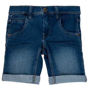 Îmbracaminte Fete Pantaloni scurti și Bermuda Name it NKMSOFUS Albastru