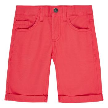 Îmbracaminte Băieți Pantaloni scurti și Bermuda Name it NKMSOFUS TWIISAK Roșu