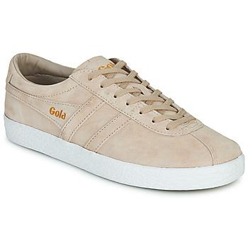 Pantofi Femei Pantofi sport Casual Gola TRAINER SUEDE Roz / Alb