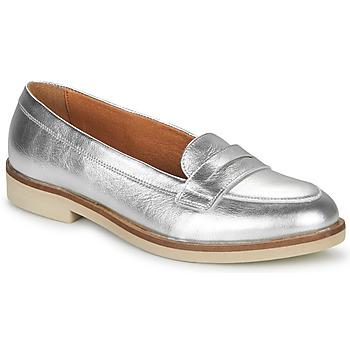Pantofi Femei Mocasini André EFIGINIA Argintiu