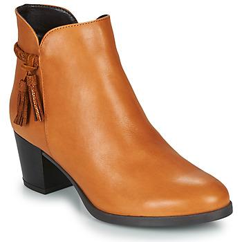 Pantofi Femei Ghete André MARYLOU Camel