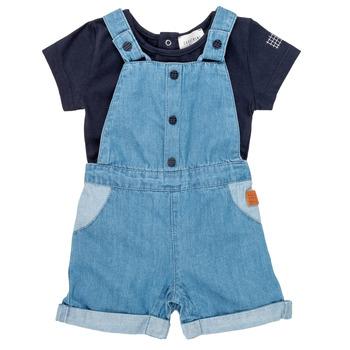 Îmbracaminte Băieți Compleuri copii  Carrément Beau OTIS Albastru