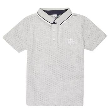 Îmbracaminte Băieți Tricou Polo mânecă scurtă 3 Pommes MADYSON Bleumarin
