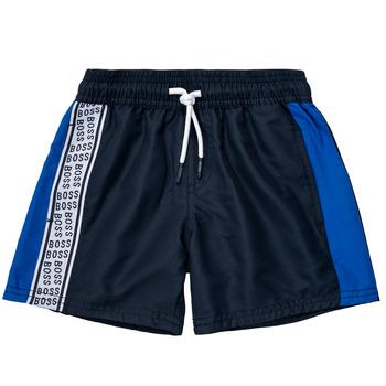 Îmbracaminte Băieți Pantaloni scurti și Bermuda BOSS MOZEL Albastru