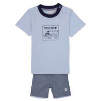 Îmbracaminte Băieți Compleuri copii  Timberland AXEL Albastru