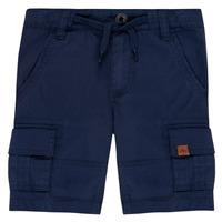 Îmbracaminte Băieți Pantaloni scurti și Bermuda Timberland LUKA Albastru
