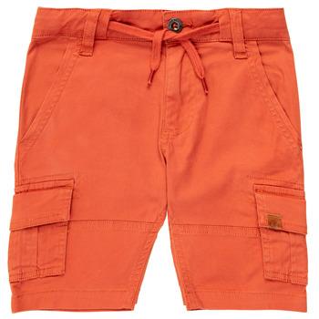 Îmbracaminte Băieți Pantaloni scurti și Bermuda Timberland TIMEO Roșu
