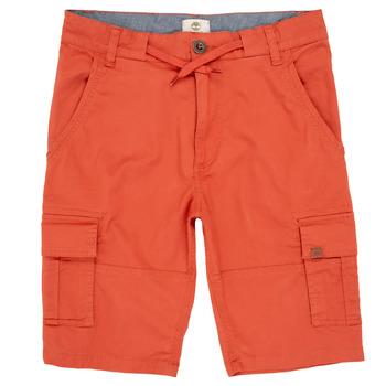 Îmbracaminte Băieți Pantaloni scurti și Bermuda Timberland STANISLAS Roșu